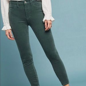 Anthropologie | Pilcro and the letter press jeans